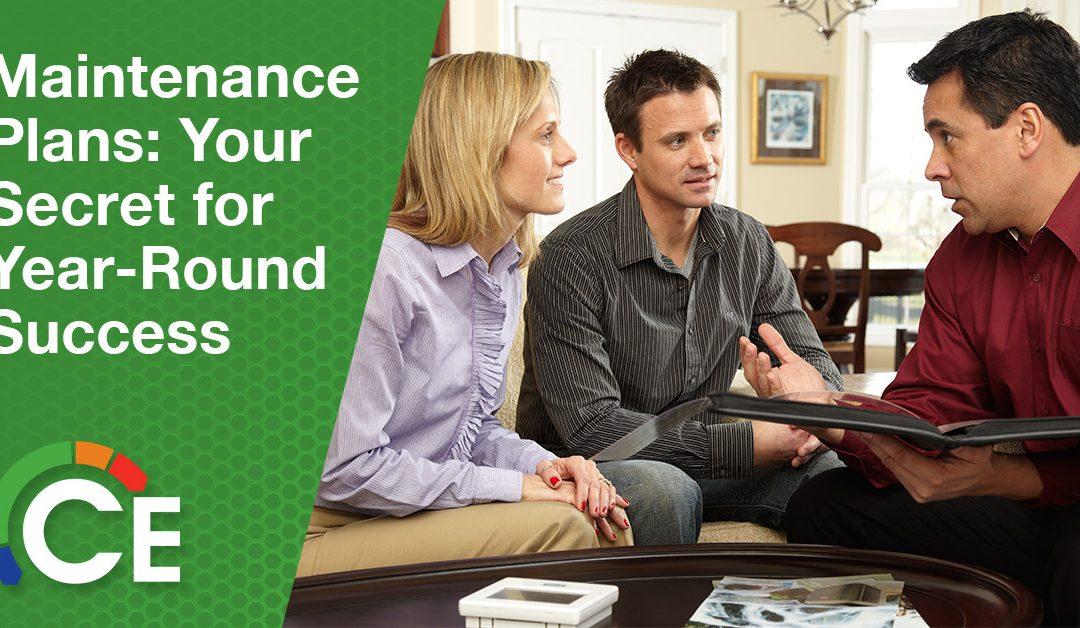 Maintenance Plans: Your Secret for Year-Round Success