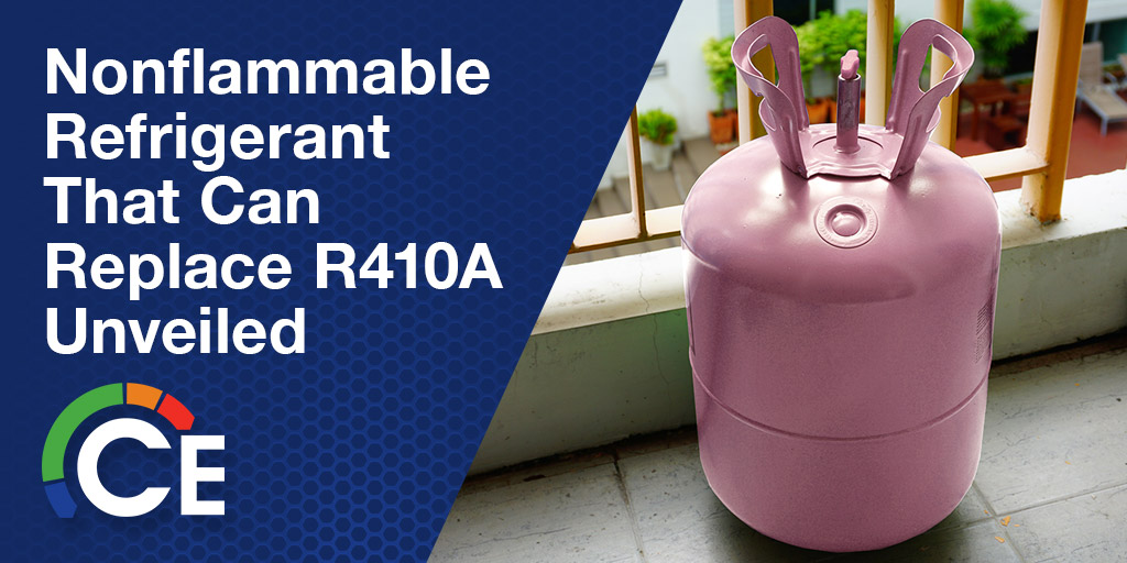 Is There A Nonflammable Refrigerant That Can Replace R410a?