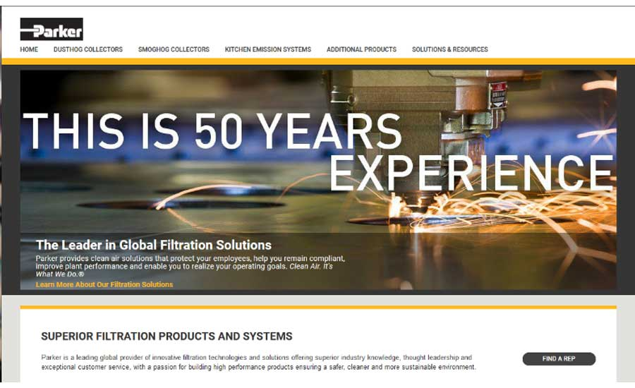 Parker Hannifin Announces New Website