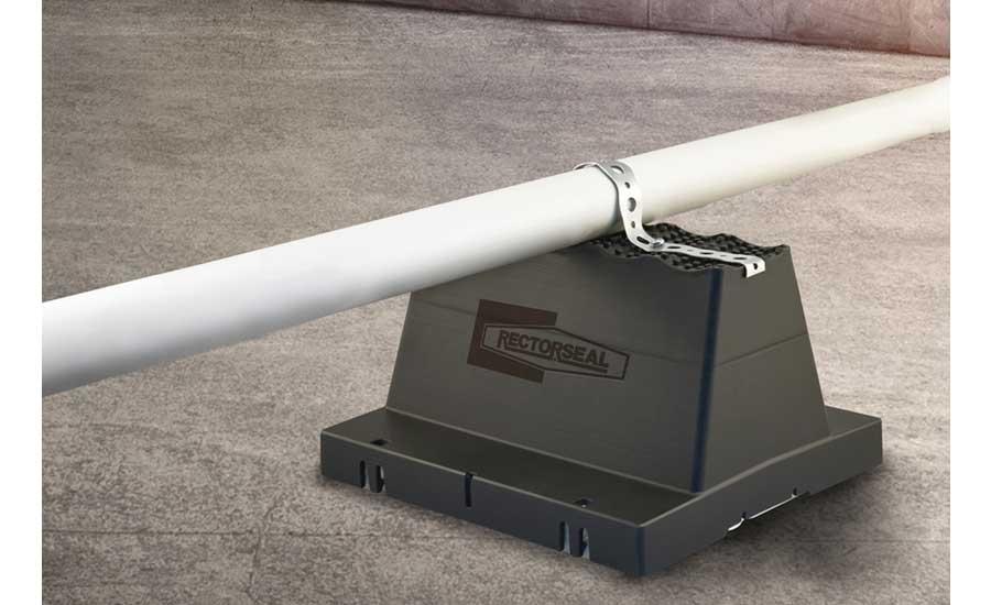 RectorSeal: Rooftop Pipe Support