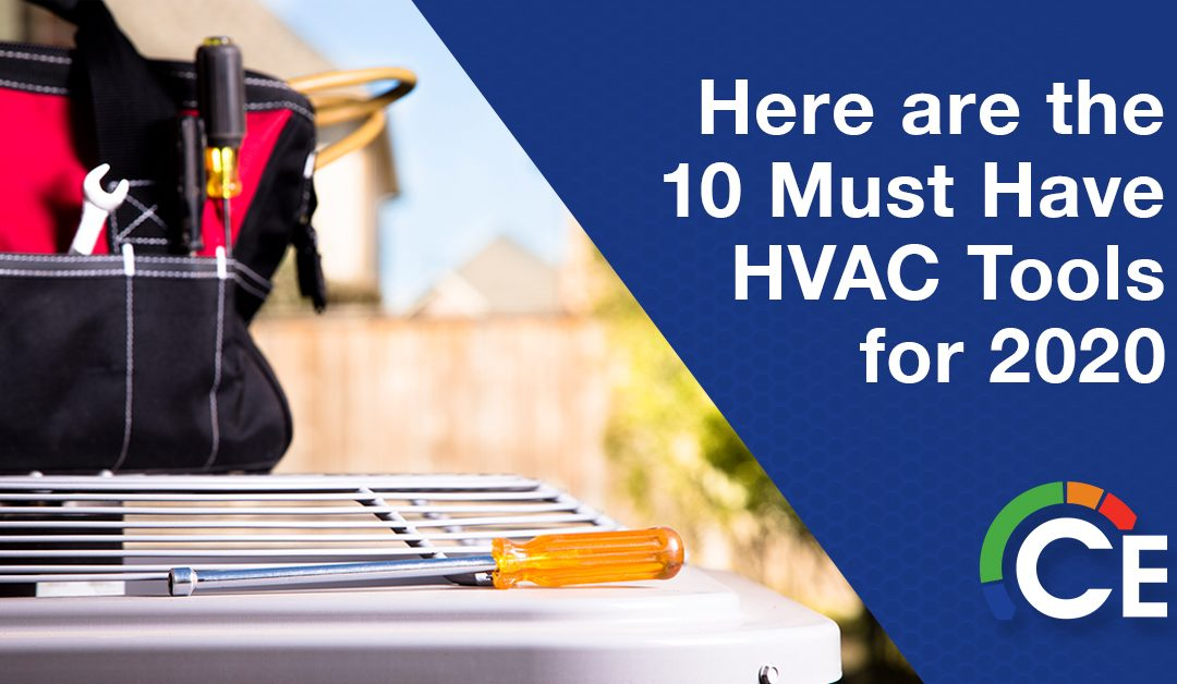 10 Must-Have HVAC Tools for 2020
