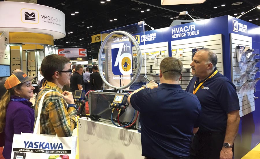Yellow Jacket's Newest Tools Connect Contractors Via Bluetooth