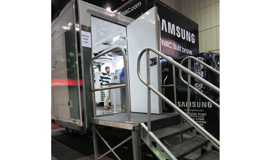 Samsung HVAC Training Goes On The Road With Mobile Training Truck