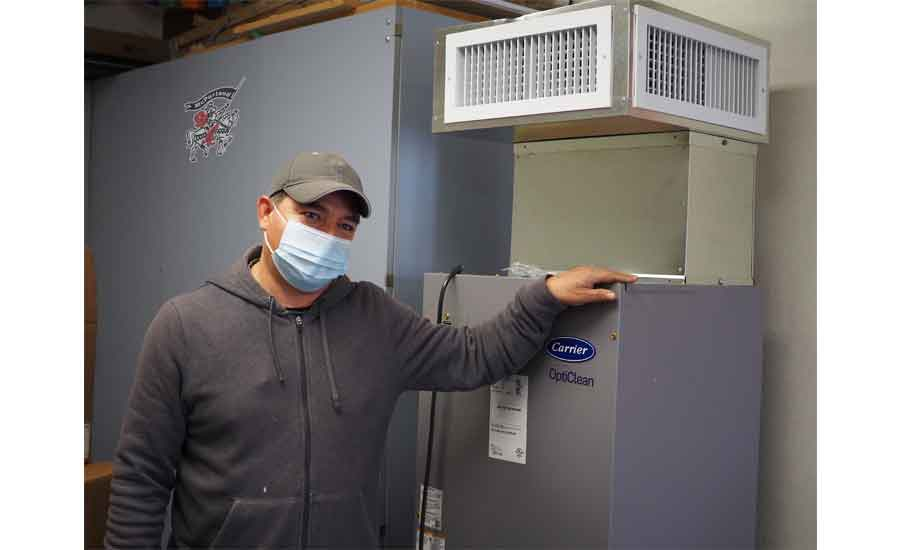 Northern California School District Installs 1,500 Carrier OptiClean Units