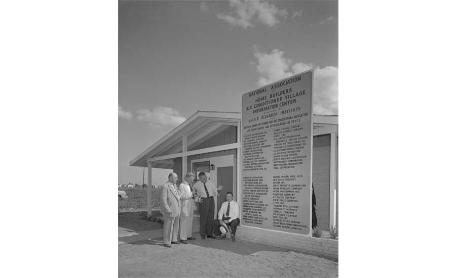 Austin 'Air-Conditioned Village' Was America's Air Conditioning Proving Grounds